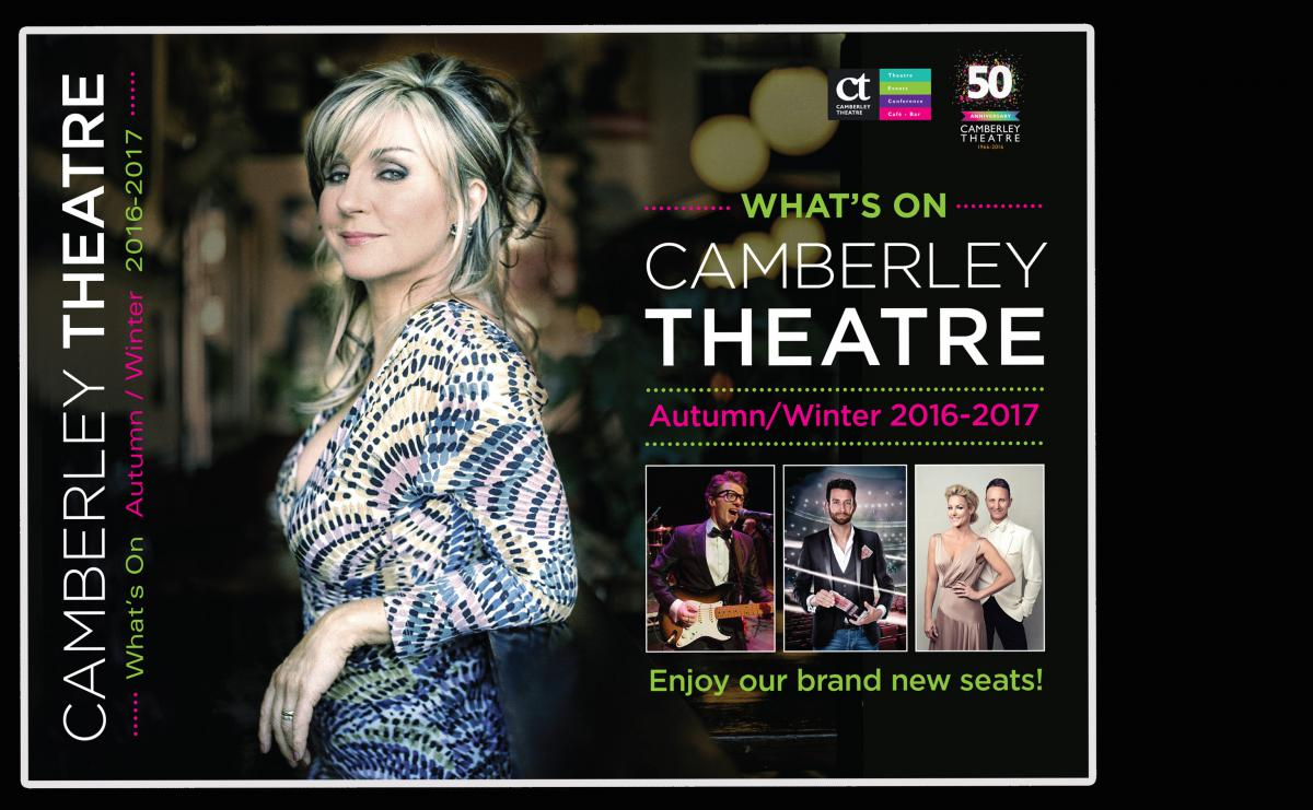 View / Download the Camberley Theatre Brochure 2016/2017