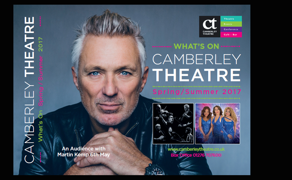 View / Download the Camberley Theatre Brochure Spring/Summer 2017