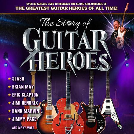 Phil Walker presents The Story of Guitar Heroes