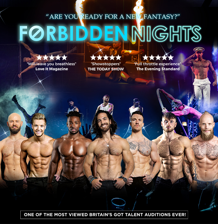 Event image for Forbitten Nights at Camberely Theatre