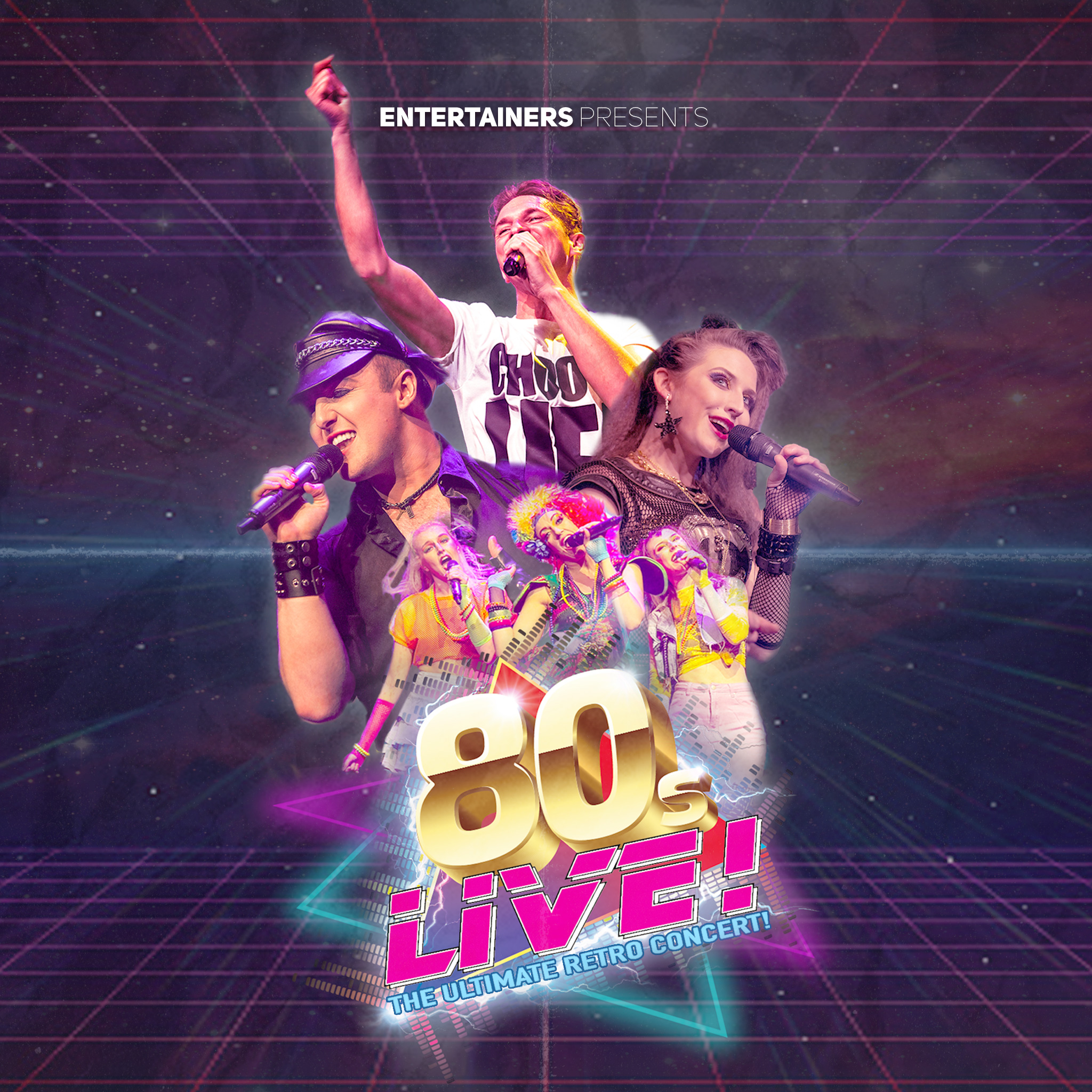 Event image for 80s Live at Camberley Theatre
