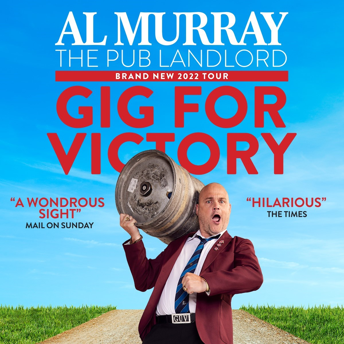 Al Murray The Pub Landlord: Gig For Victory at Camberley Theatre