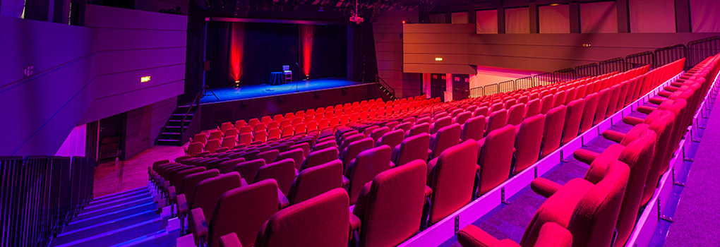 Camberley Theatre auditorium