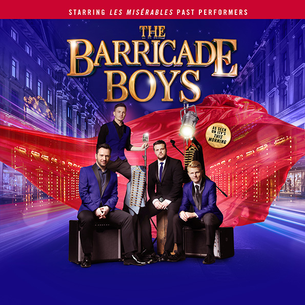 Event image of The Barricade Boys performing at Camberley Theatre