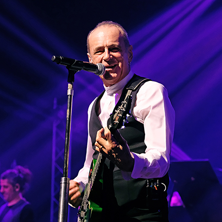 Francis Rossi talks about his career as part of his, I Talk Too Much tour