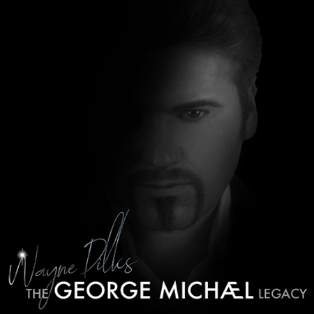 The George Michael Legacy Featuring Wayne Dilks performing at a show