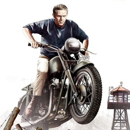 Steve McQueen as Hilts 'The Cooler King'