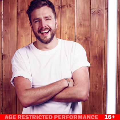 Iain Stirling, Failing Upwards performing at a show