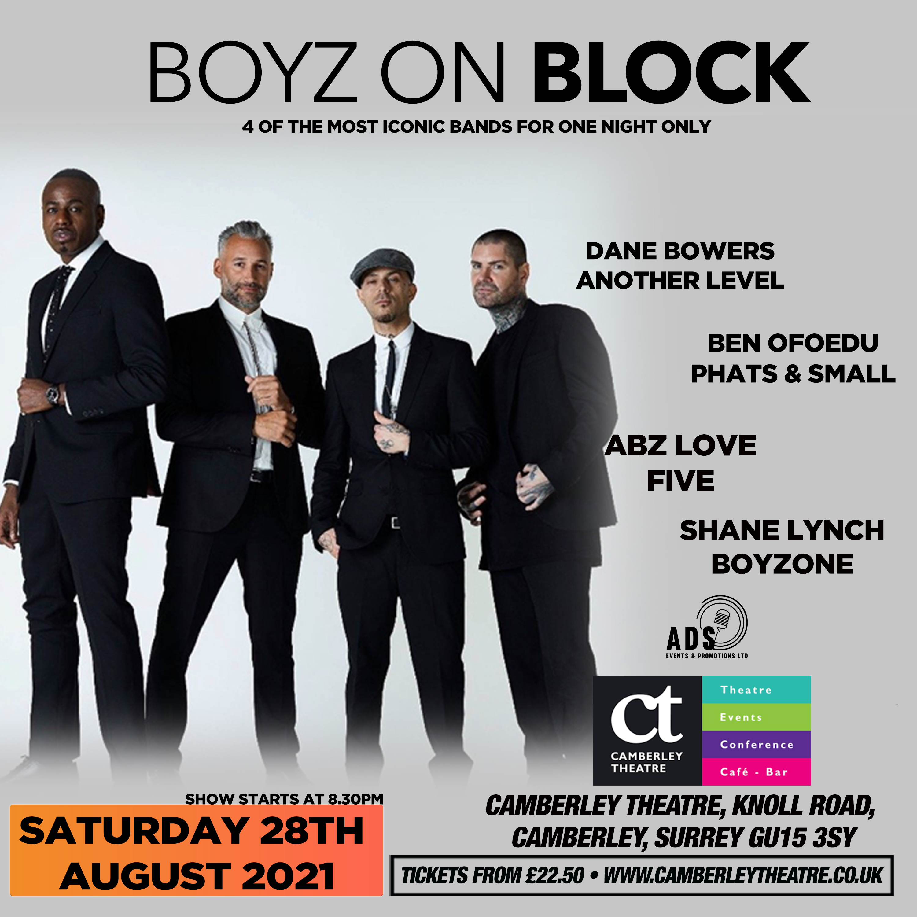 Event image for Boyz on Block