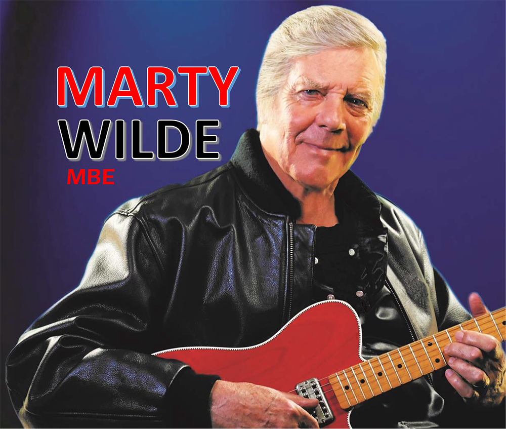 Event image for Marty Wilde & The Wildcats Running Together Tour at Camberely Theatre