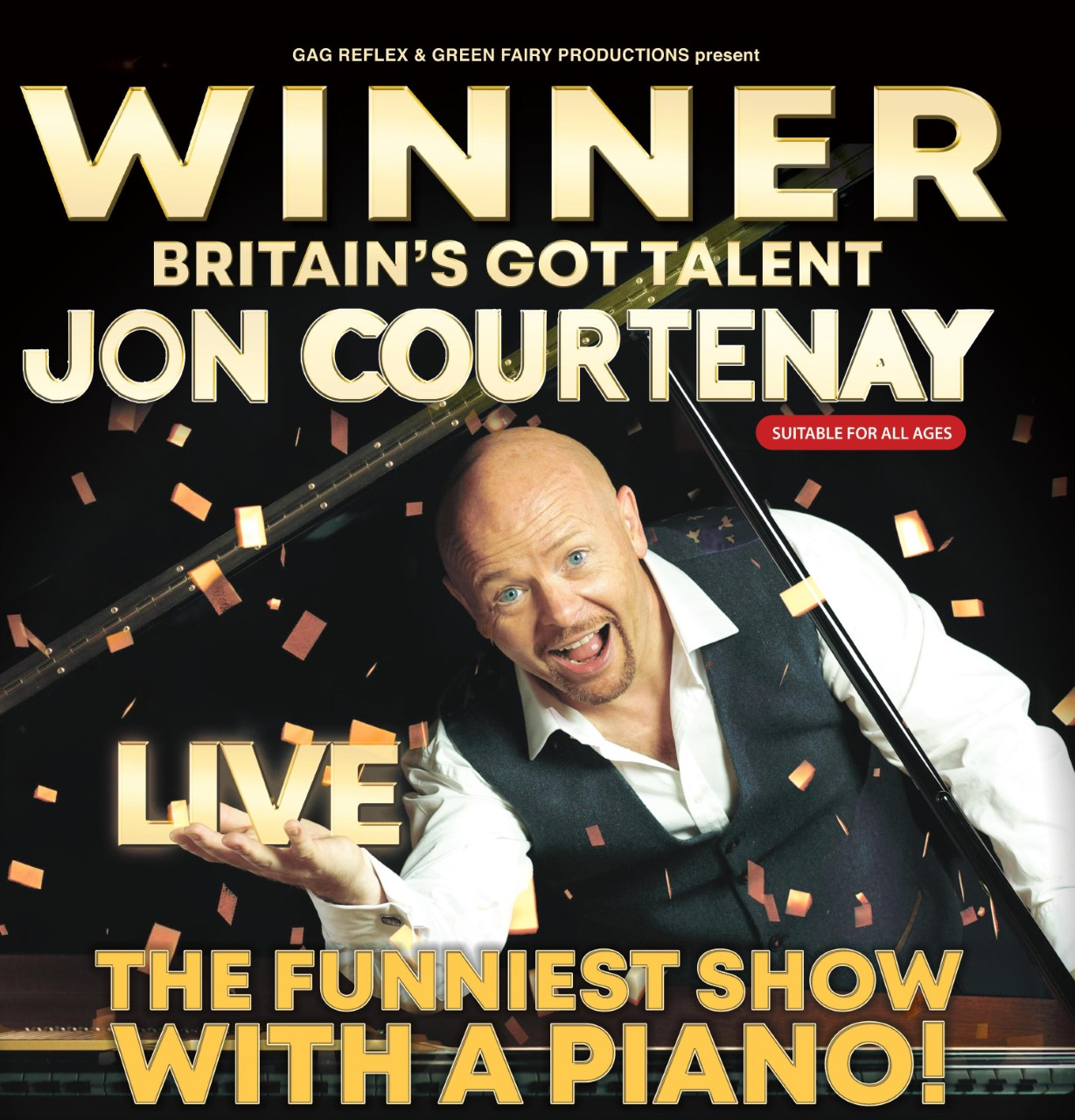 Event image for Jon Courtenay at Camberley Theatre