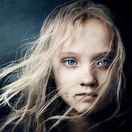 Isabelle Allen as a young Cosette