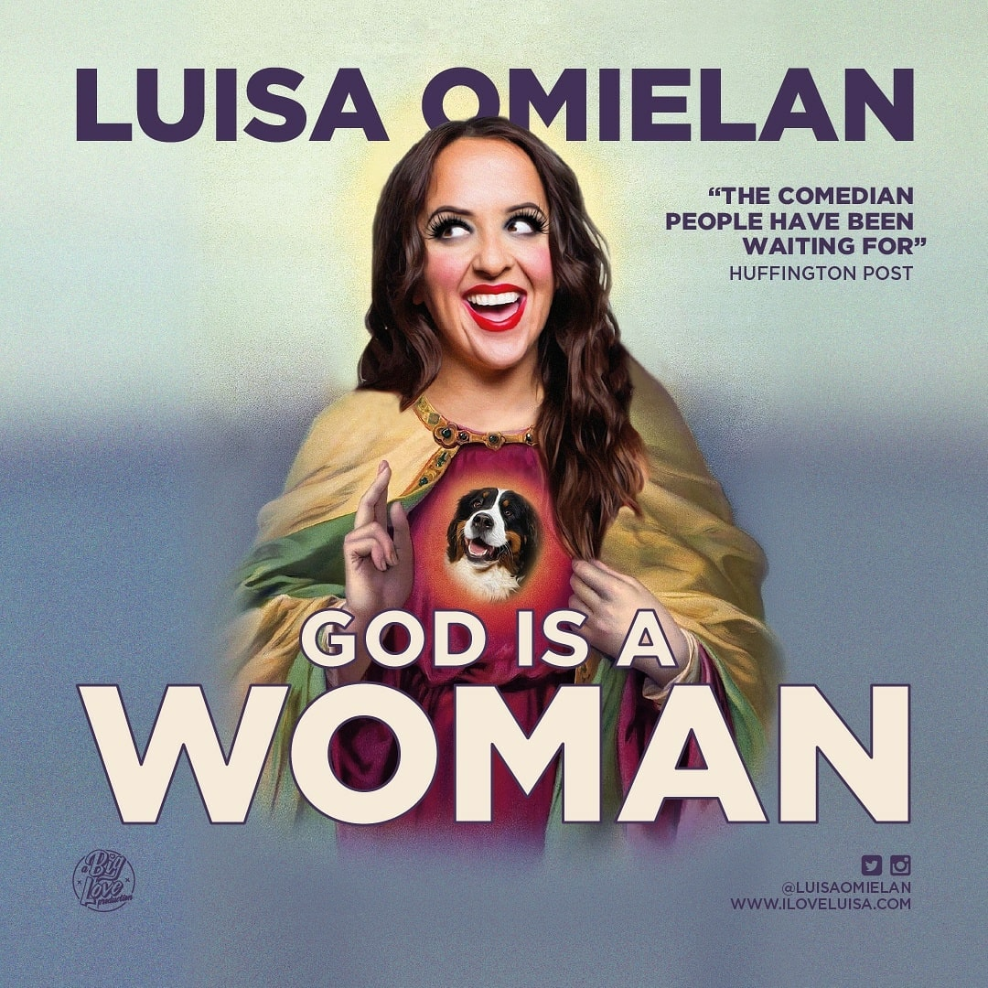 Event image for Luisa Omielan - God is a Women at Camberely Theatre
