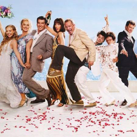 The Principle cast of Mamma Mia