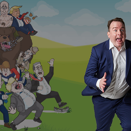 Event image for Matt Forde performing at Camberley Theatre