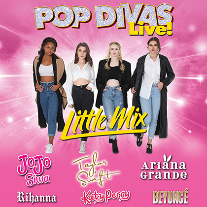 Pop Divas Live! The UK's number 1 Pop Tribute performing at a show