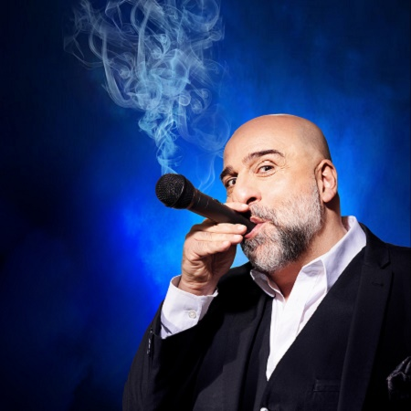 Image of Omid Djalil who is performing at Camberley Theatre