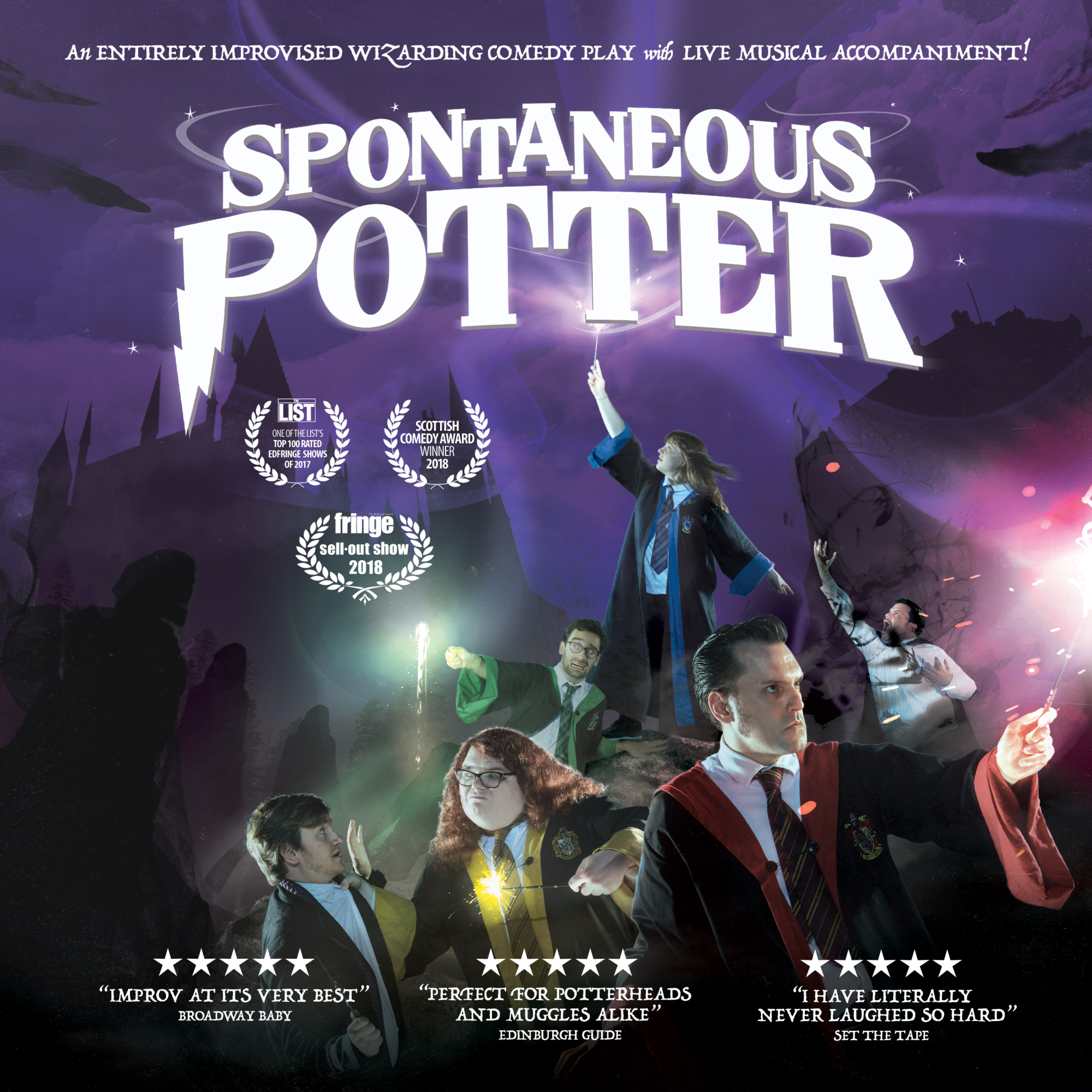 Event image for Spontaneous Potter at Camberely Theatre