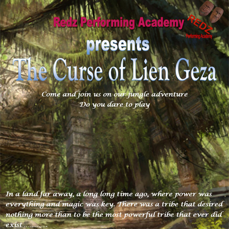 Redz Performing Academy: The Curse of Lien Geza performing at a show