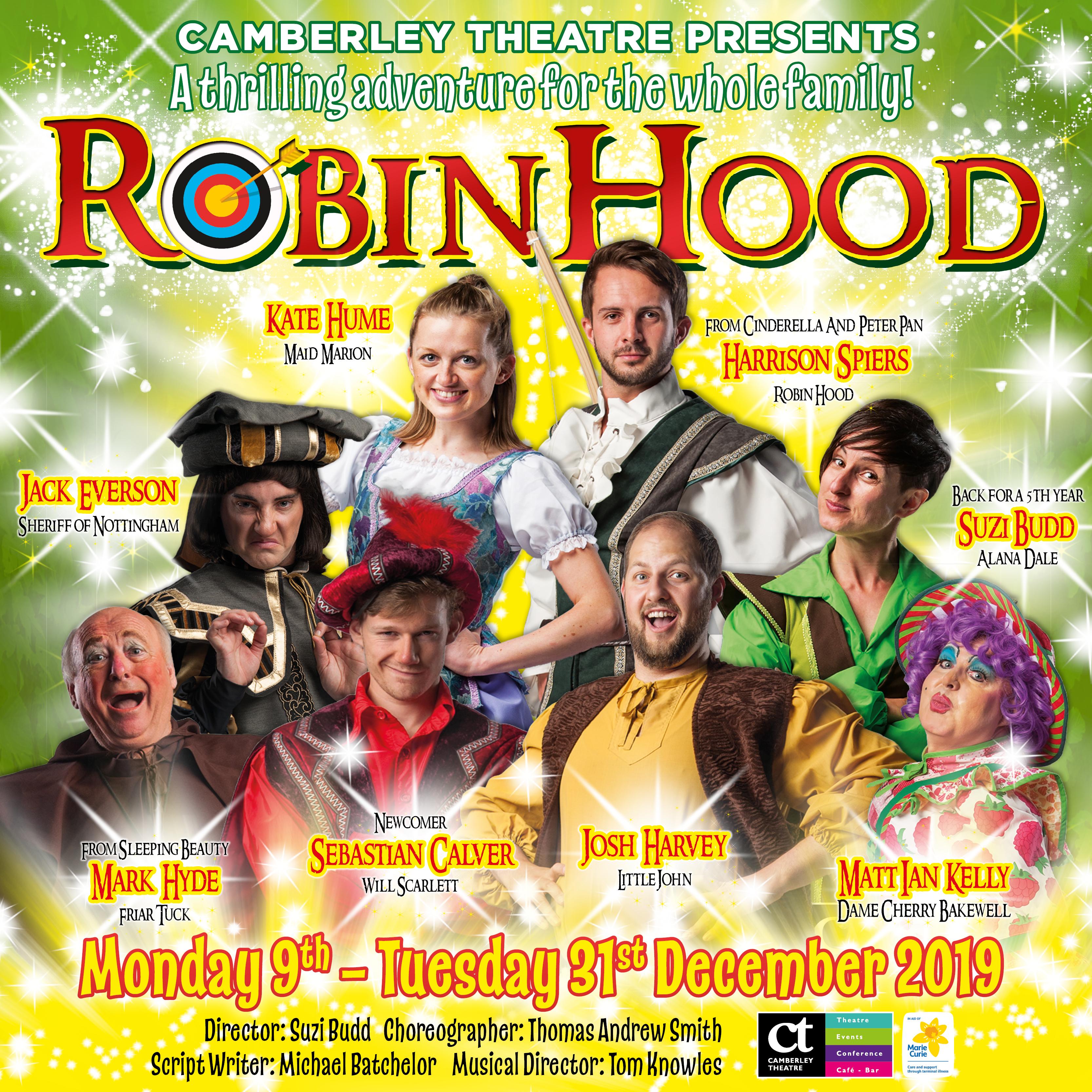 Robin Hood   Camberley Theatre