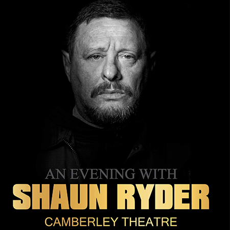 Event image for Shaun Ryder at Camberely Theatre