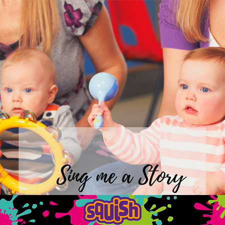 Babies at sing me a story workshop