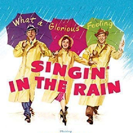 Principle cast of Singin' in the Rain