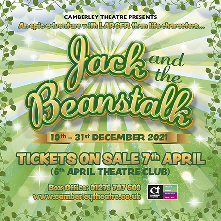 Event image for Jack and the Beanstalk Panto at Camberely Theatre