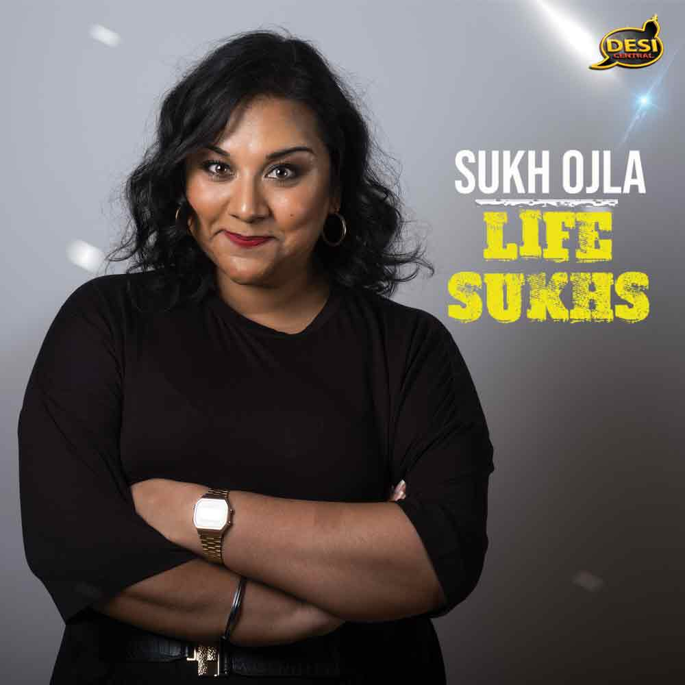 Sukh Ojla performing her new show, Life Sukhs