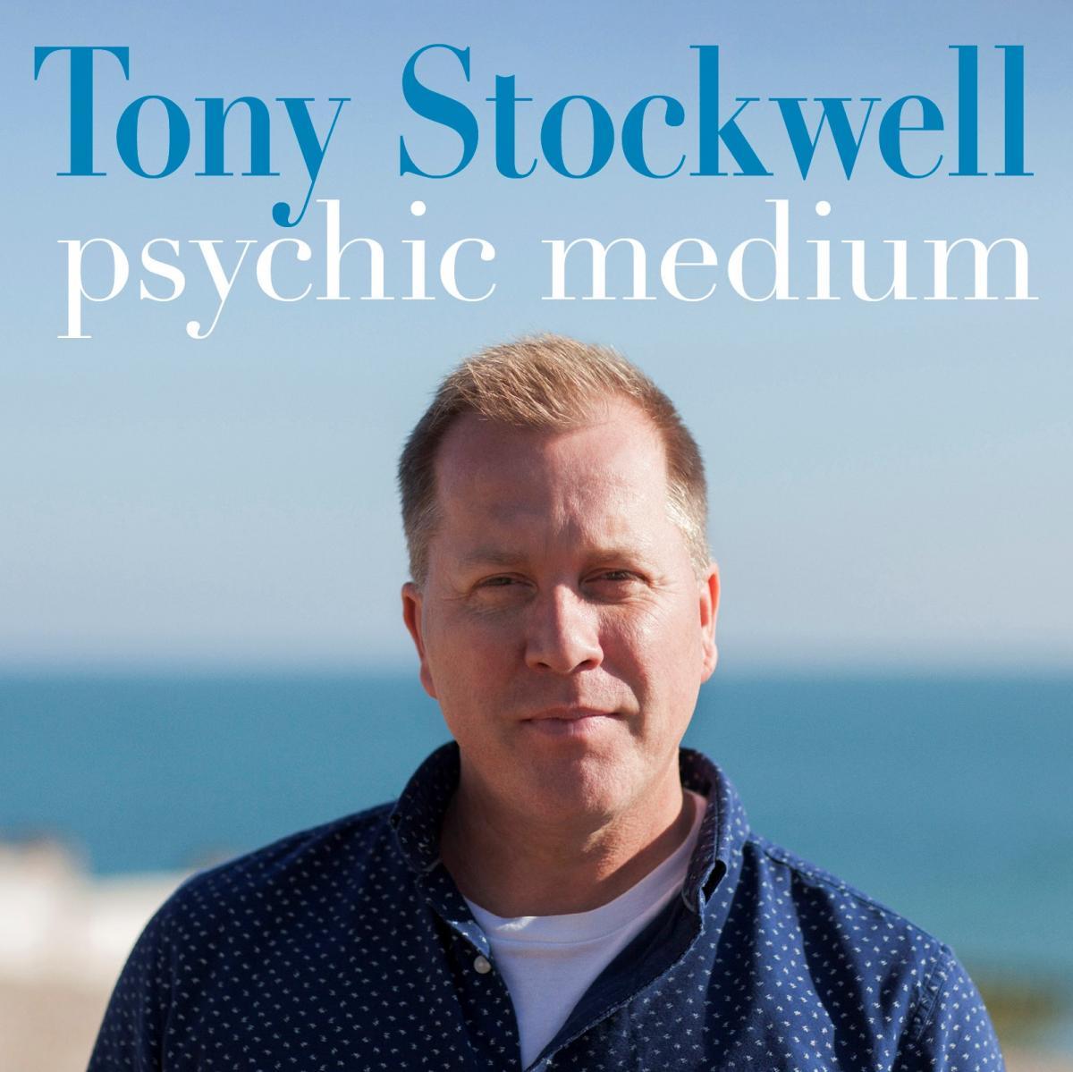 Tony Stockwell performing his new show, Psychic Medium