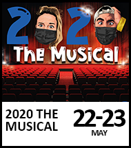 Booking link for 2020 The Musical on 22nd and 23rd May 2021