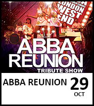 Booking link for Abba Reunion on 29 October 2021