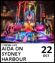 Booking link for Aida on Sydney Harbour on 22 October 2020