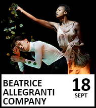Booking link for Beatrice Allegranti Company on 18th September 2021