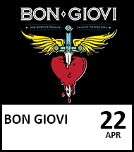 Booking link for Bon Giovi on 22 April 2022