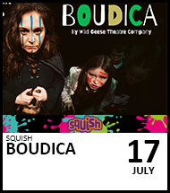 Booking link for Boudica on 17 July 2021