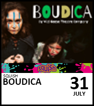 Booking link for Boudica on 31 July 2021