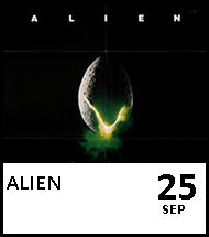 Booking link for Alien on 25th September