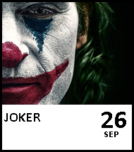 Booking link for Joker on 26th September