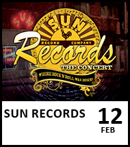 Booking link for Sun Records on 12 February 2021