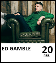 Booking link for Ed Gamble on 20 February 2021