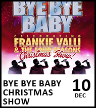 Booking link for Bye Bye Baby Christmas Show on 10 December 2020