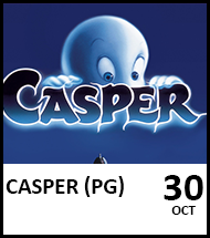 Booking link for Casper on 30th October 2021
