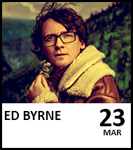 Booking link for Ed Byrne on 23rd March 2022
