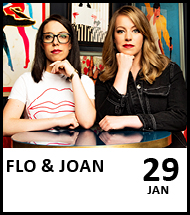 Booking link for Flo and Joan on 29 January 2021