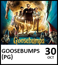 Booking link for Goosebumps on 30th October 2021