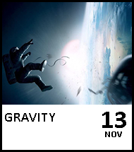 Booking link for Gravity on 13th November