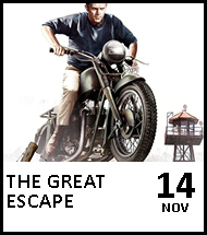 Booking link for The Great Escape on 14 November 2020