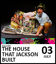 Booking link for The House That Jackson Built on 3 July 2021