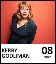 Booking link for Kerry Godliman: BOSH on 8 May 2022